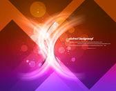 Abstrait colorfu brillant nouveau — Vecteur