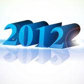 Piękny wektor nowy rok 2012 — Wektor stockowy