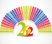 New year 2012 — Stock Vector