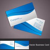 New business card set vector — Stock Vector