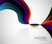 Abstract new Vector Wave background — 图库矢量图片