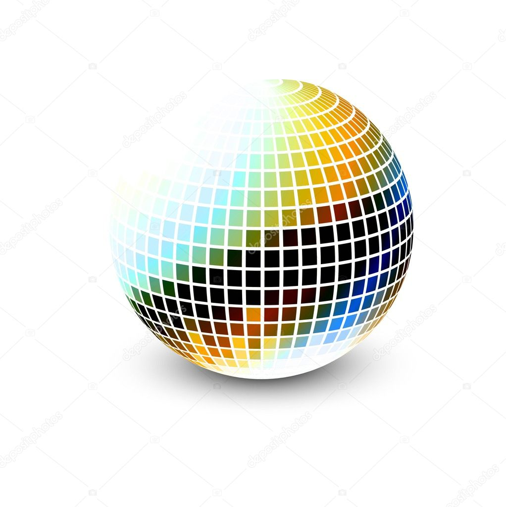 New 3d glossy sphere vector design  Stock Vector #9934553