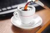 Coffe mug — Stock Photo