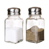 Salt and pepper shakers — Foto Stock
