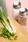 Green onions — Stock Photo