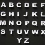 Alphabet — Stock Photo #10548821