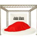 Auto show — Stock Photo
