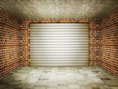 Garage — Stock Photo