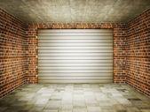 Garage — Stock Photo
