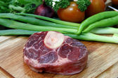 Rindfleisch steak roh — Stockfoto