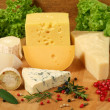 Cheese types — Stock Photo #10159930