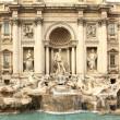 Trevi Fountain. Rome. — Stock Photo