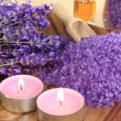 Lavender spa — Stock Photo #10424001