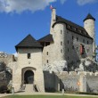 Bobolice castle, Poland — Stock Photo