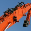 Excavator arm — Stock Photo #8015056