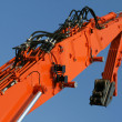 Stock Photo: Excavator arm