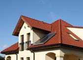 Environmentally friendly home — Stock Photo