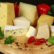 Variety of cheese — Stock Photo #8040895