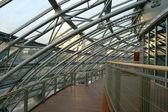 Futuristische interieur architectuur — Stockfoto