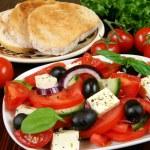 Vegetarian breakfast — Stock Photo