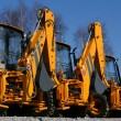 Construction machinery — Lizenzfreies Foto