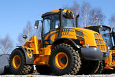 Yellow dozer — Stock Photo