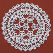 Stock Photo: Lace doily.