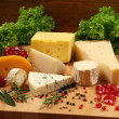 Cheese board — Stock Photo #8522221