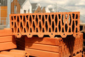 Perforated brick — Stock Photo
