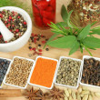 Spices and herbs. — Stock Photo #8766743
