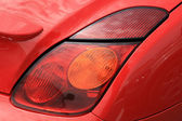 Red sporty car — Stock Photo