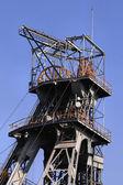 Coal mine shaft — Stock Photo