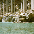 Trevi Fountain - Rome landmark — Stock Photo