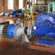 Water pumping station — Stock Photo #9032069