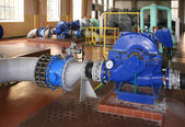 Water pumping station — Stock Photo
