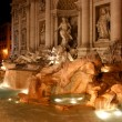 Rome landmark - di Trevi — Stock Photo