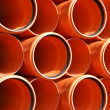 PVC pipes texture — Stock Photo #9050683