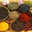 Spices ang herbs - Stock Photo