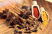 Arometic especiarias — Foto Stock
