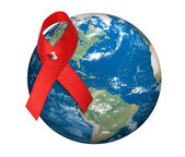 World aids day — Stock Photo