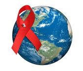 Giornata mondiale dell'aids — Foto Stock