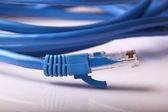 Bilgisayar ağ kablosu — Stok fotoğraf
