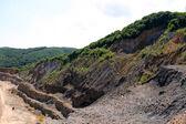 Open pit mining — Стоковое фото