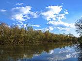 Sky in water — Stock Photo
