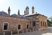 Mevlana museum mosque in Konya, Turkey — Stockfoto