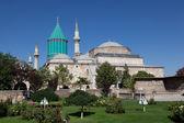Mevlana museum mosque in Konya, Turkey — Stock Photo