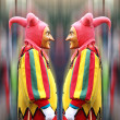 Royalty-Free Stock Photo: Double Jester