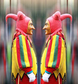 Double Jester — Stock Photo