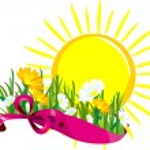 Sun daisies banner — Stock Vector #10533237