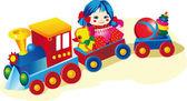 Kid Toys — Stock Vector